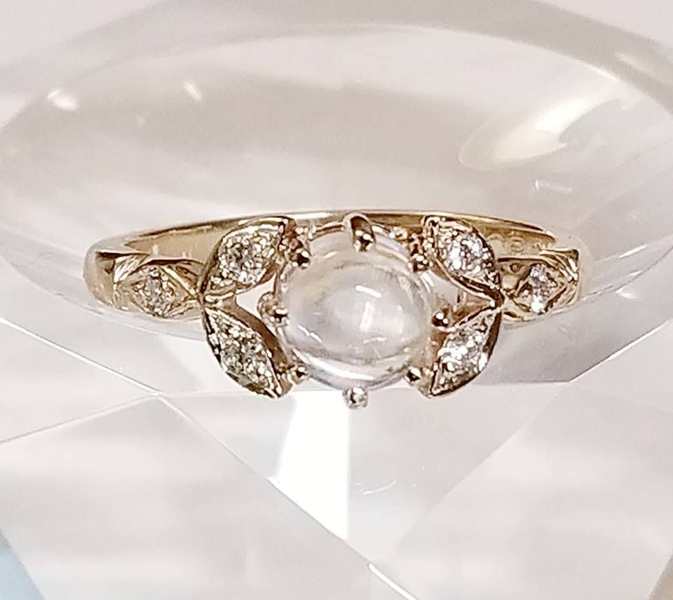 CCBC 14Kt Custom Diamond Ring