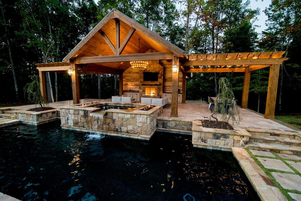 Amazing Outdoor Living in Milton GA
