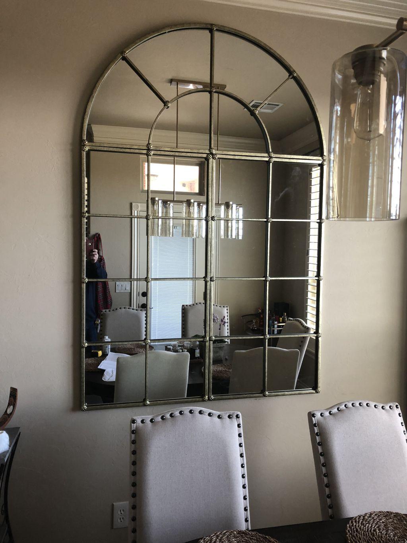 Hang three piece mirror