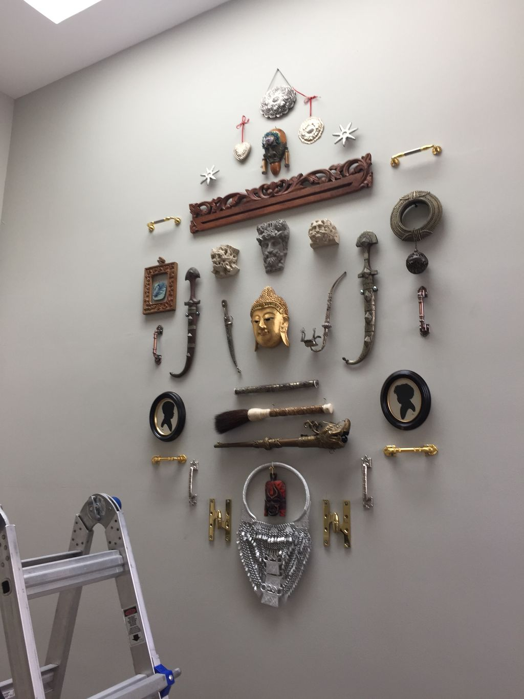 Metal Trinket Wall