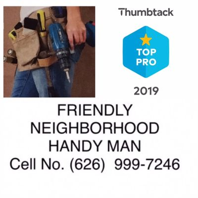 Avatar for Friendly Neighborhood HandyMan Westminster, CA Thumbtack