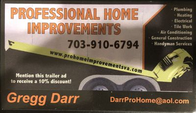 Avatar for Professional Home Improvements, LLC Manassas, VA Thumbtack