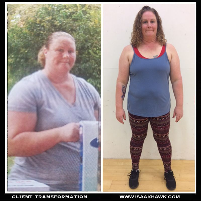 100lbs lost In person training and online coaching combined