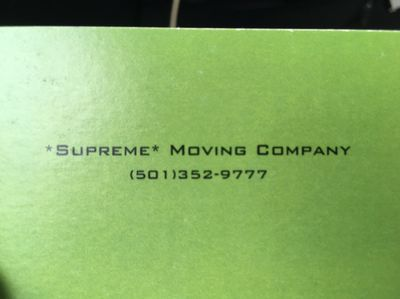 """Avatar for """"Supreme"""" Moving Company Little Rock, AR Thumbtack"""