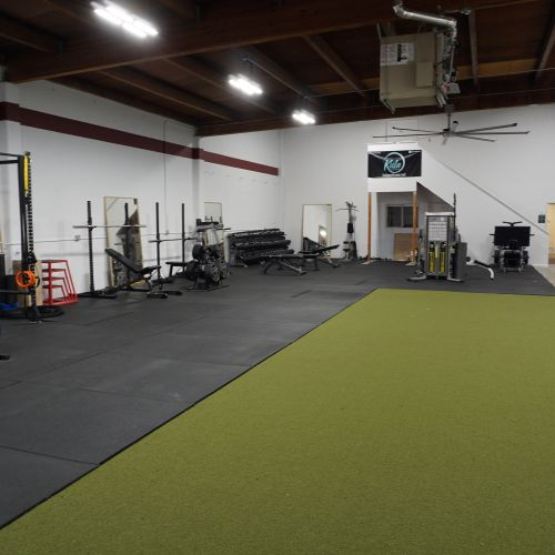 Large turf for functional movements