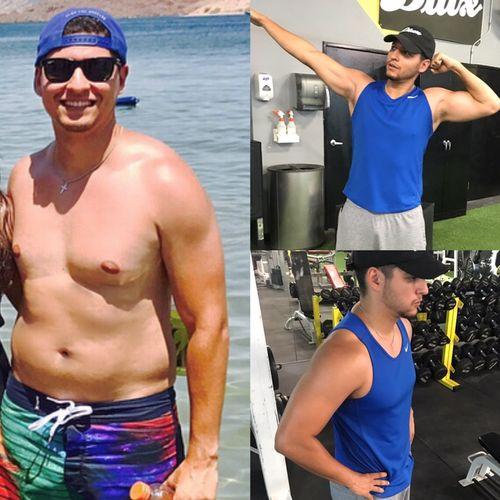 7 month transformation