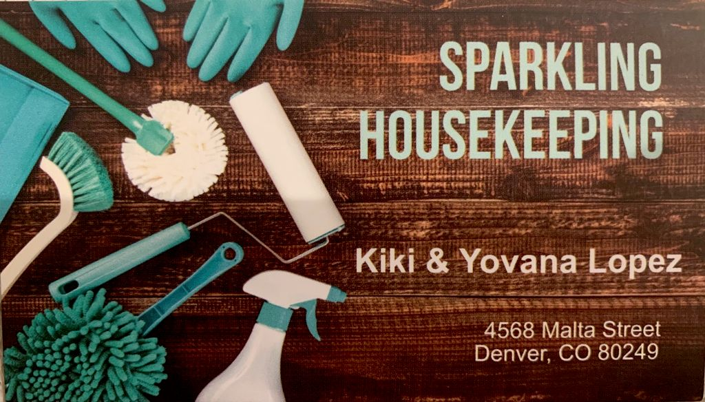 Sparkling housekeeping
