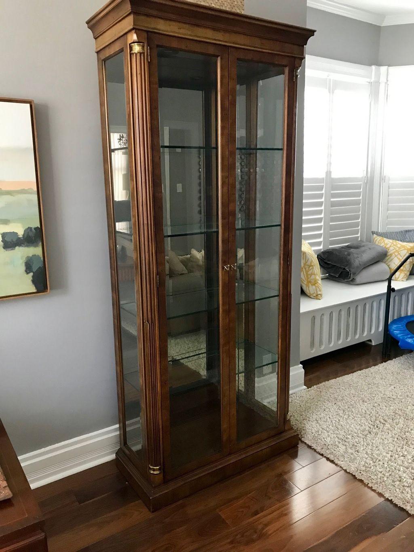 Curio cabinet moving