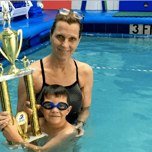 A 300 Yard Swim - Congratulations!