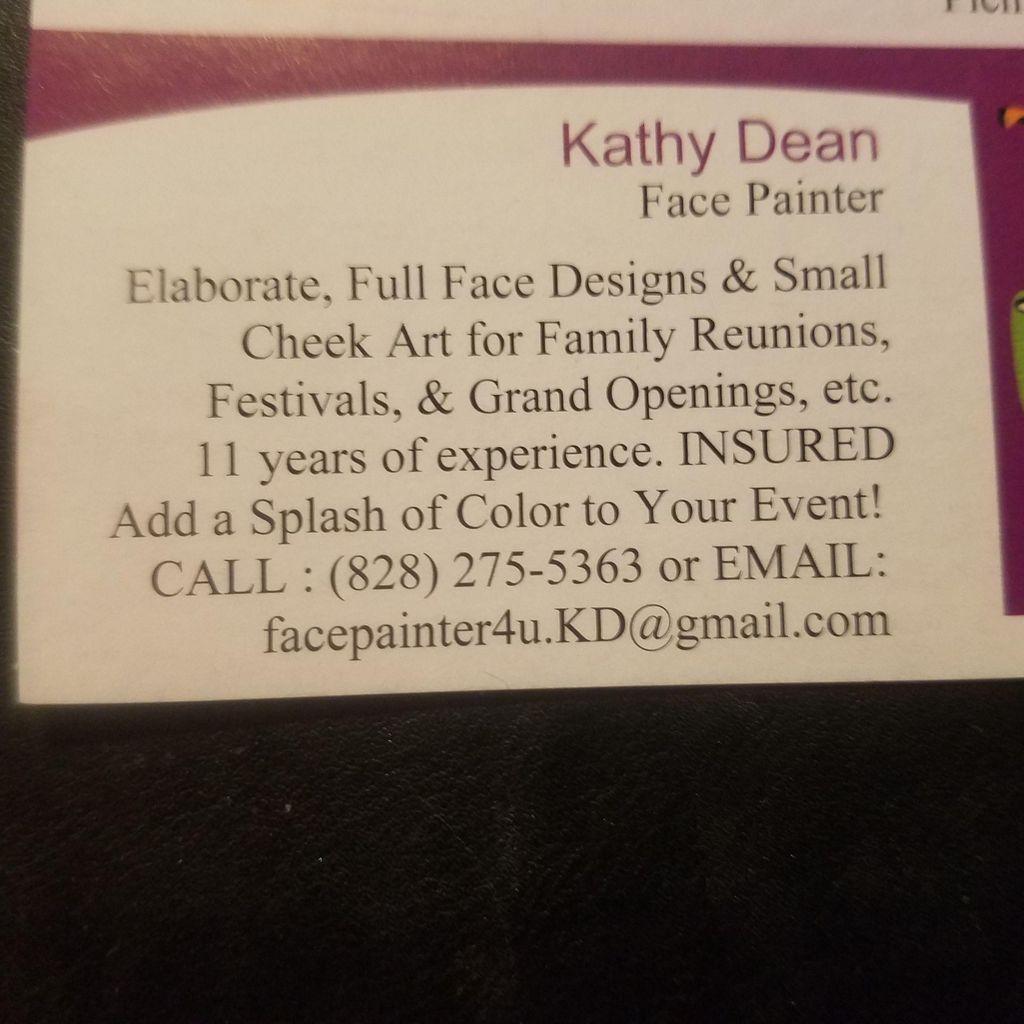 Kathy Dean - Face Painter