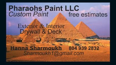 Avatar for Pharaoh's Paint LLC Henrico, VA Thumbtack