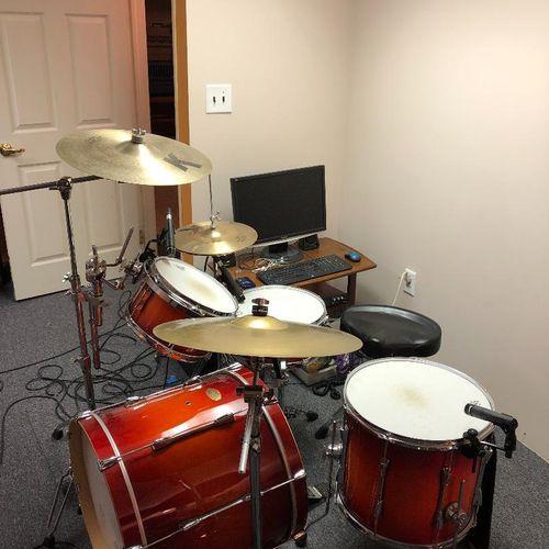 Insructors drumset