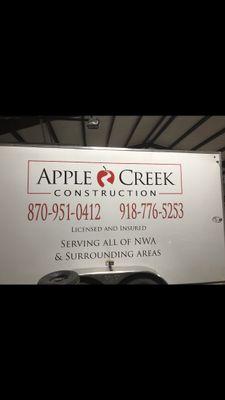 Avatar for Apple Creek Construction Pea Ridge, AR Thumbtack