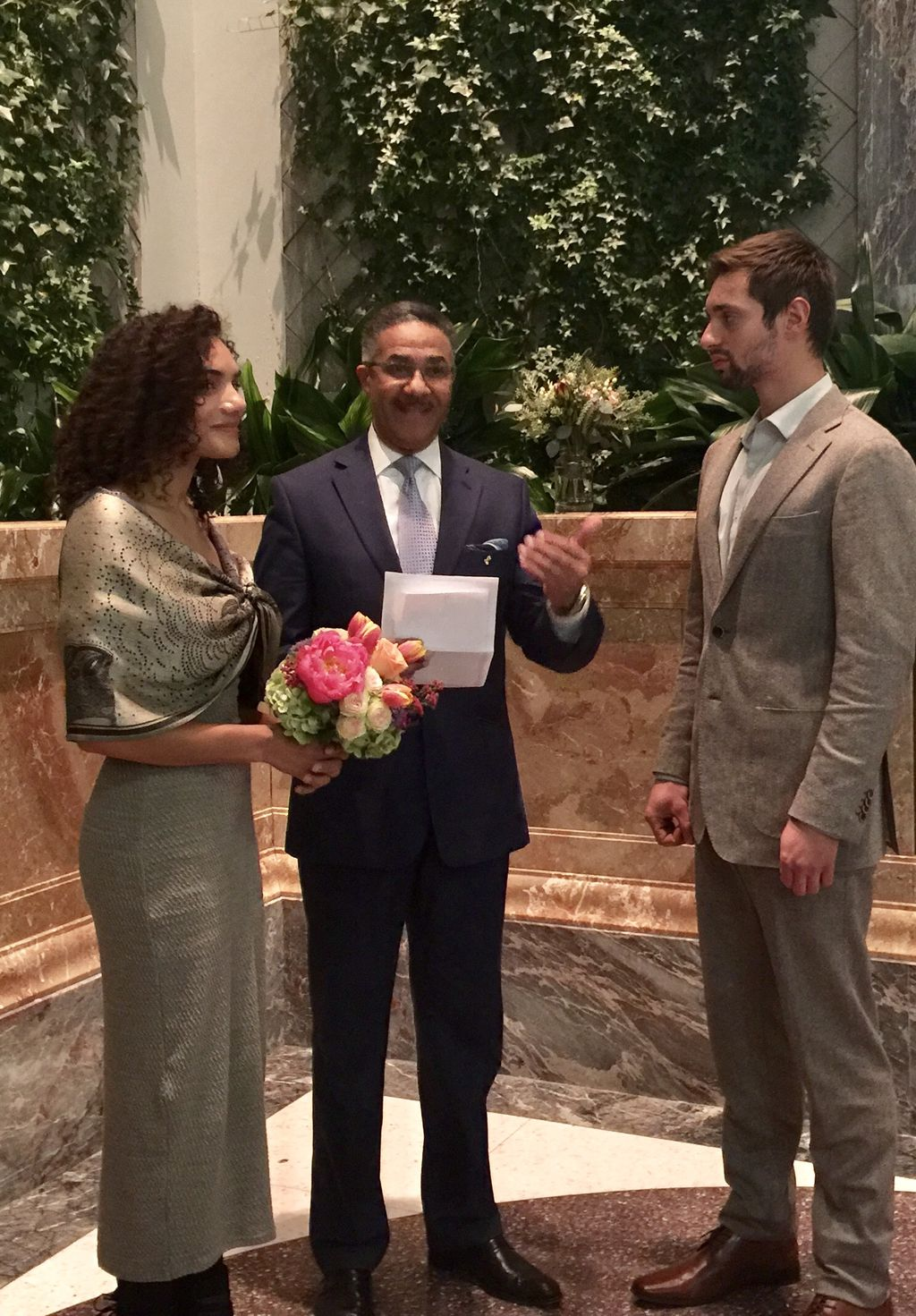 Double Wedding Vow Renewal for two couples