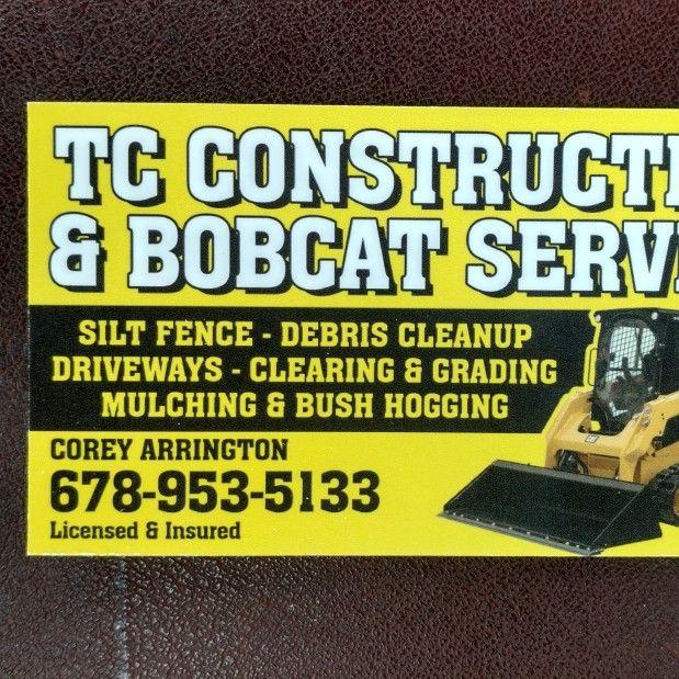TC Construction and Bobcat service LLC