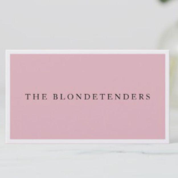 Blondetenders