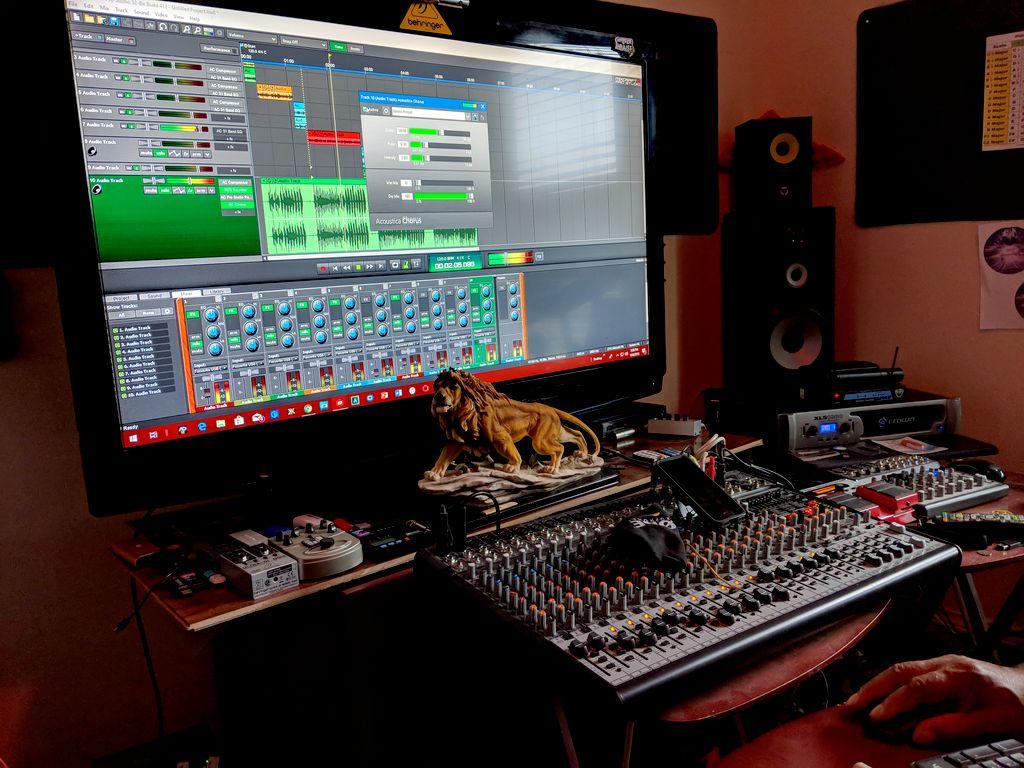 Studio Audio Recording Instruments & Vocals