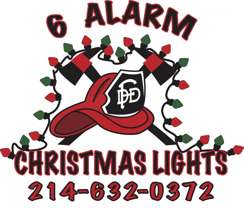6 Alarm Christmas Lights