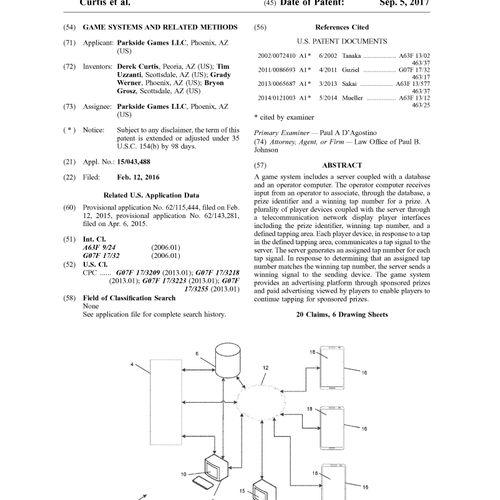 U.S. Patent No. 9,754,441