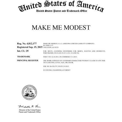 U.S. TM Registration No. 4,812,177