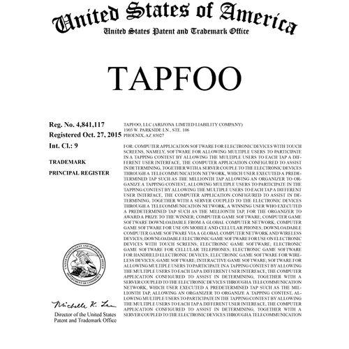 U.S. TM Registration No. 4,841,117