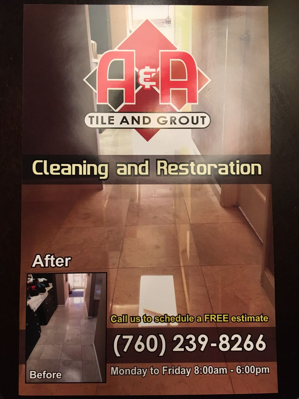 A&A TILE AND GROUT CLEANING AND RESTORATION