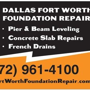 Dallas Fort Worth Foundation Repair