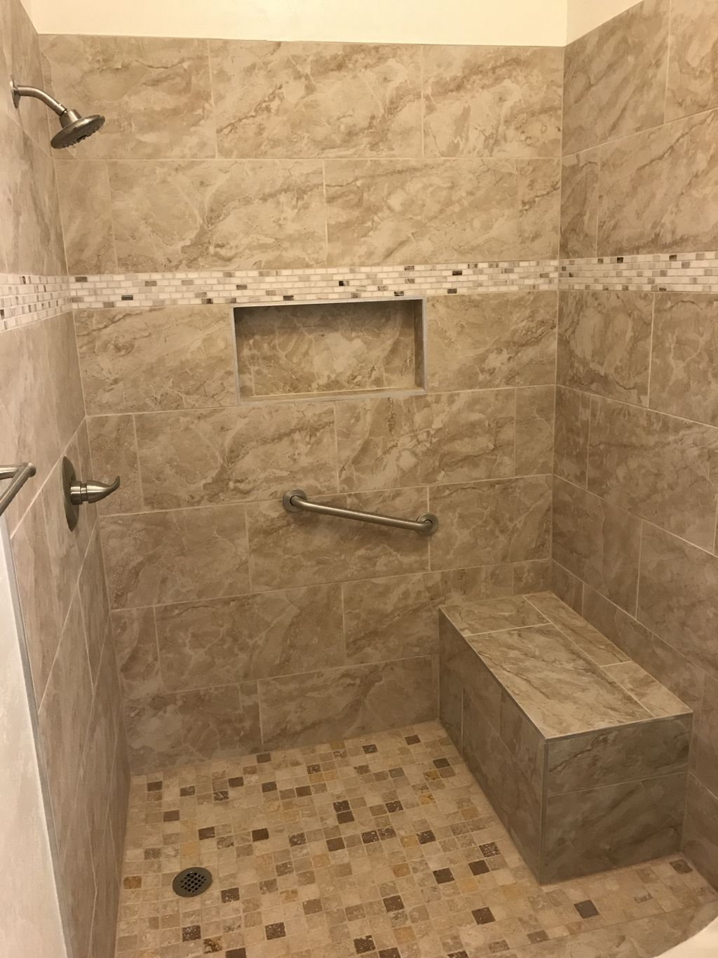 Tub-to-Shower Conversion