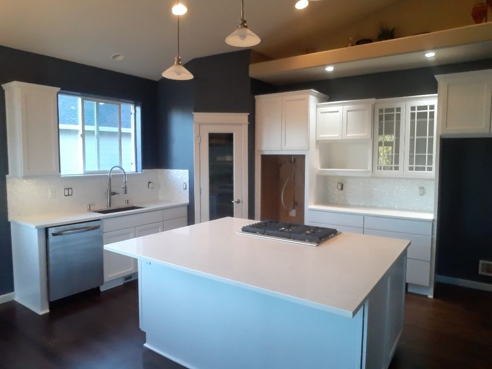 Interior Cabinets and kitchen walls