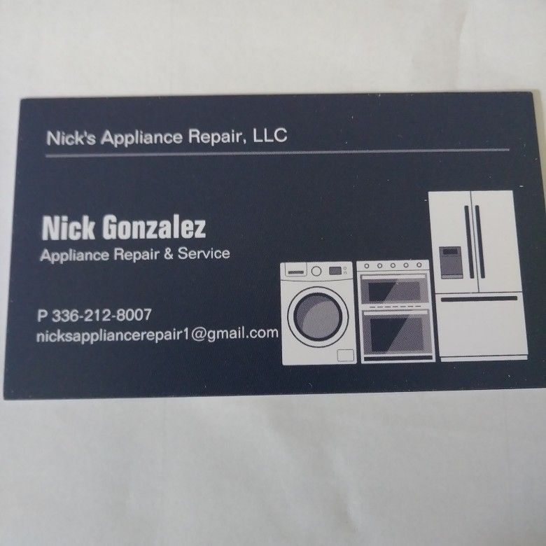 Nick's Appliance Repair L.L.C.
