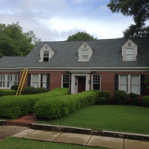 GAF Re-Roof Slate Lifetime warranty