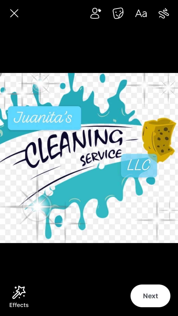 """Juanita's Cleaning Service """"Just Clean"""""""