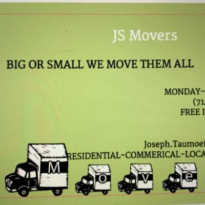 "Avatar for JS Movers ""Big or Small We Move them All"" Salt Lake City, UT Thumbtack"