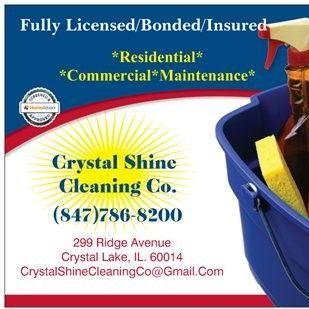 Avatar for Crystal Shine Cleaning Co. Crystal Lake, IL Thumbtack