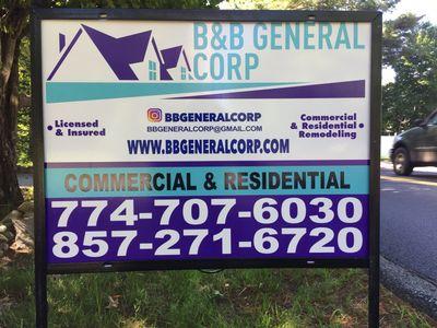 Avatar for B&B General Corp Milton, MA Thumbtack