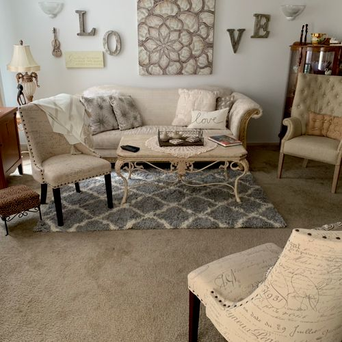 Living Room, place where we would meet!