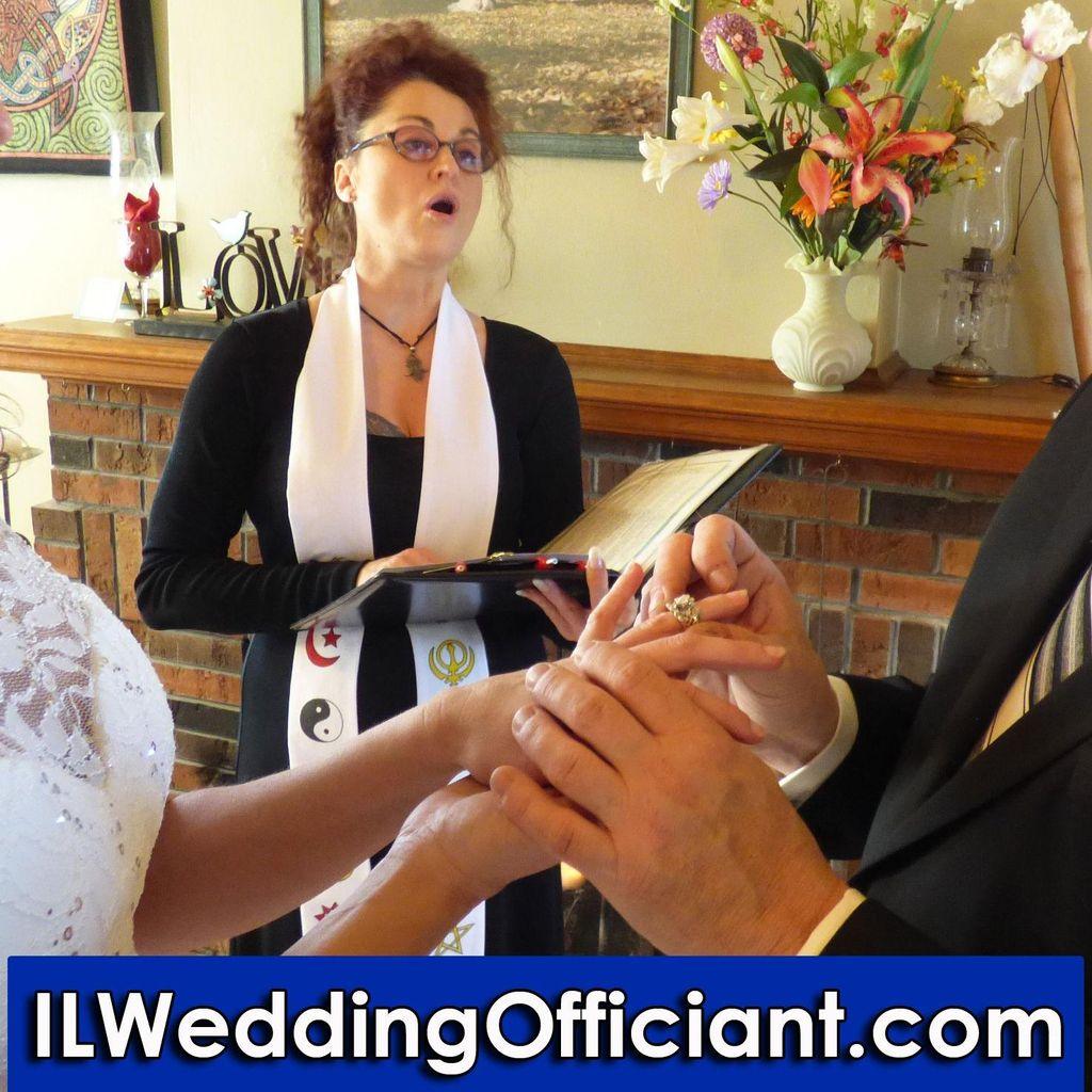 IL Wedding Officiant, Venue & Coordination