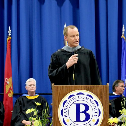 Commencement Speaker, Barstow College, CA