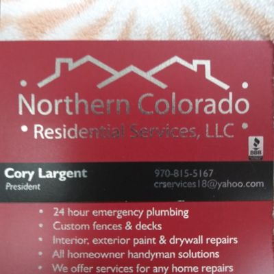 Avatar for Northern Colorado residential services llc Evans, CO Thumbtack
