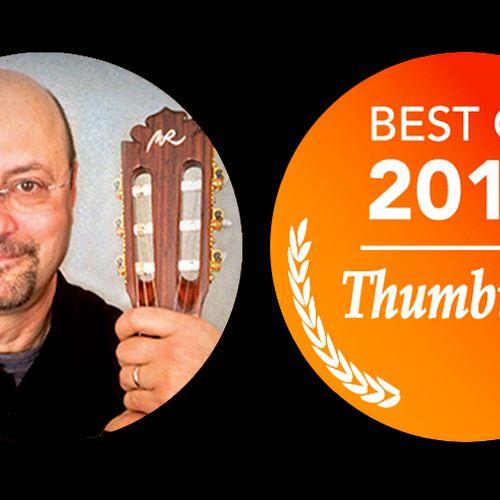 Just one of several top Thumbtack awards.