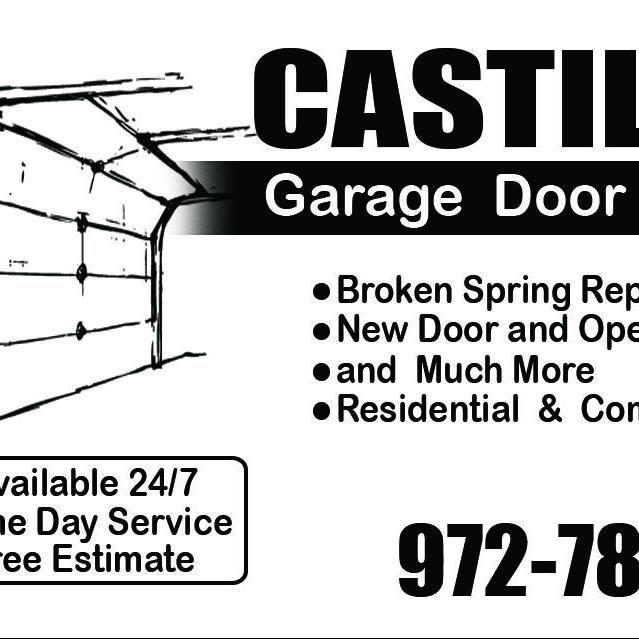 Castillos Garage Door Repair and Installation