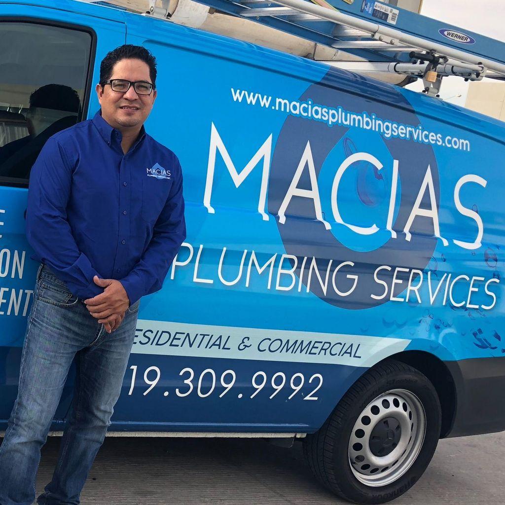 Maciasplumbing services