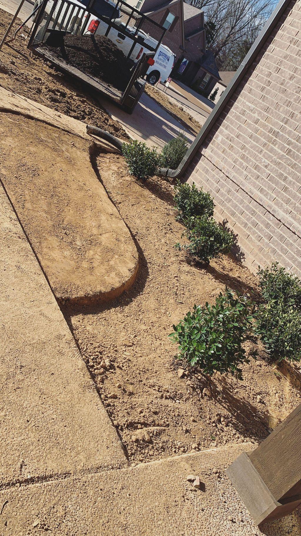 Builder Package Landscape Design,Install