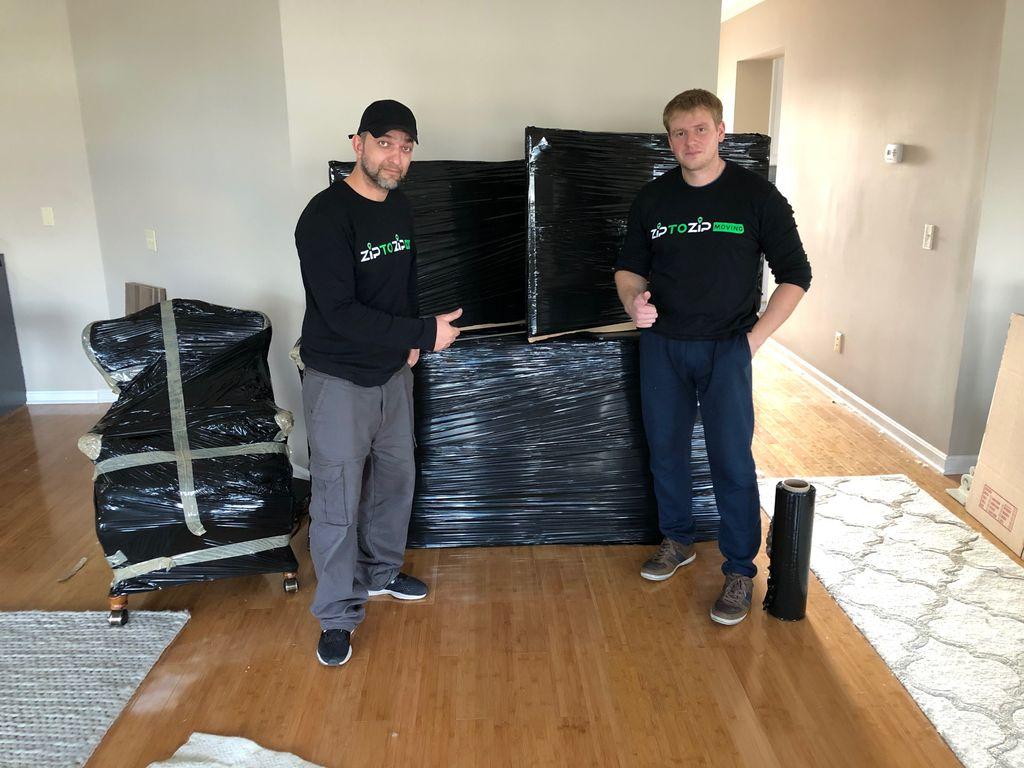 Moving 2 Bdrm Apt into Storage