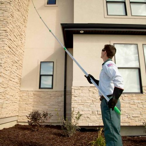 Edge Pest Control and Mosquito Services Eaves Sweeping