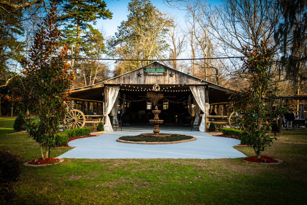 Wedding at Franklinton Camp Grounds