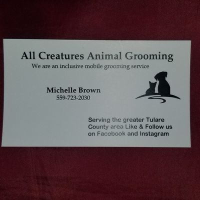 "Avatar for All Creatures Animal Grooming   ""mobile service"""