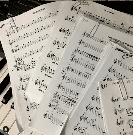 Over 500 Charts Arranged