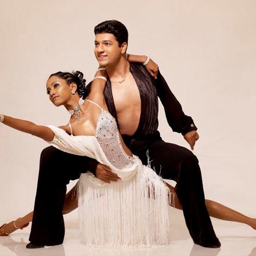 Priti Gupta-Udeshi in a cha cha pose