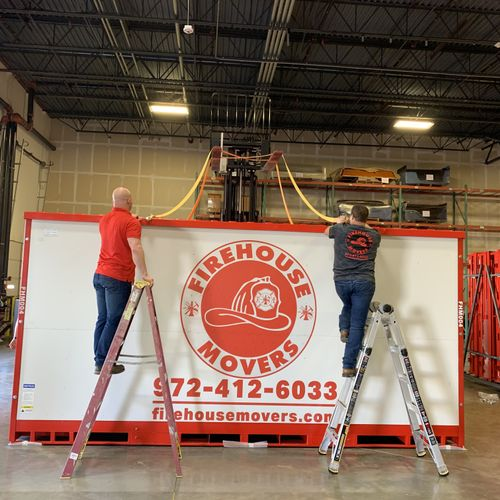 Firehouse Movers Portable Storage PODS